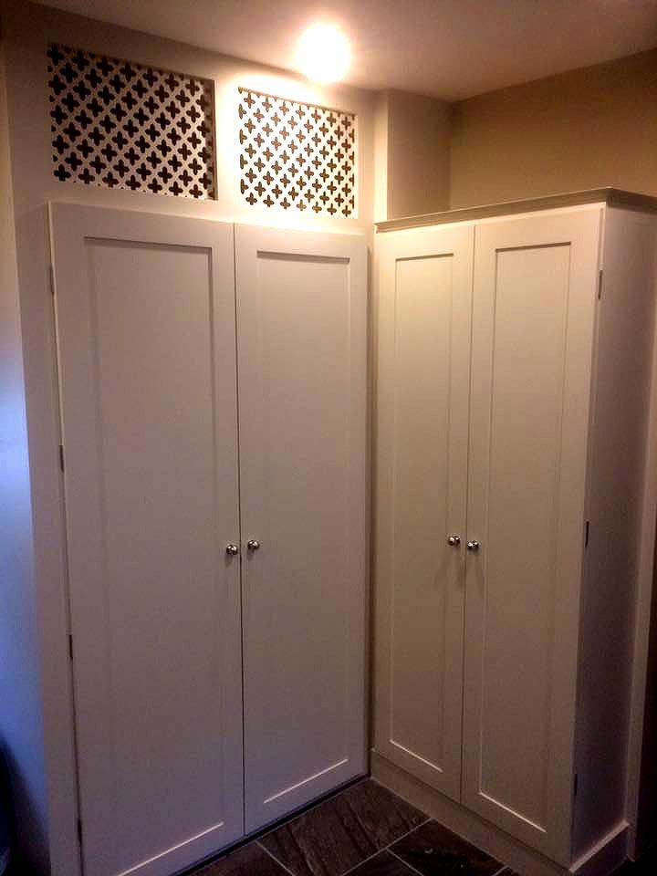 Bespoke Fitted Wardrobe Units Finished
