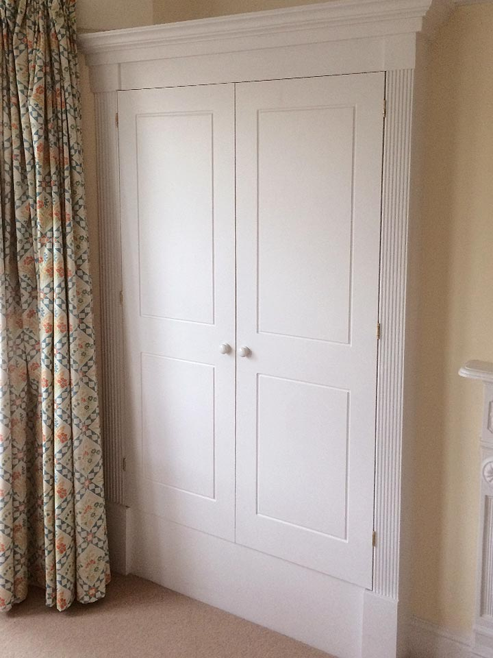 Shaker Style Wardrobe Regency Finished (Front)