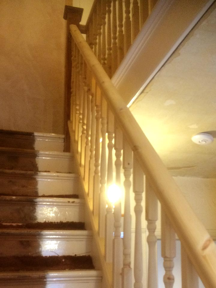 Staircase Refurbishment Replacement Spindles (Example)